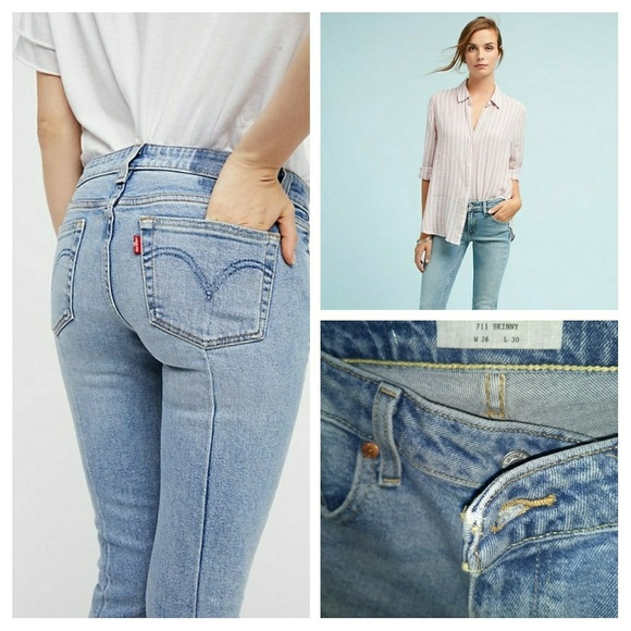 8ff09fb5 Levi's Jeans | Salelevis 711 Altered Skinny Free People | Poshmark